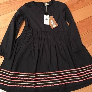 LS Navy and pink dress NWT